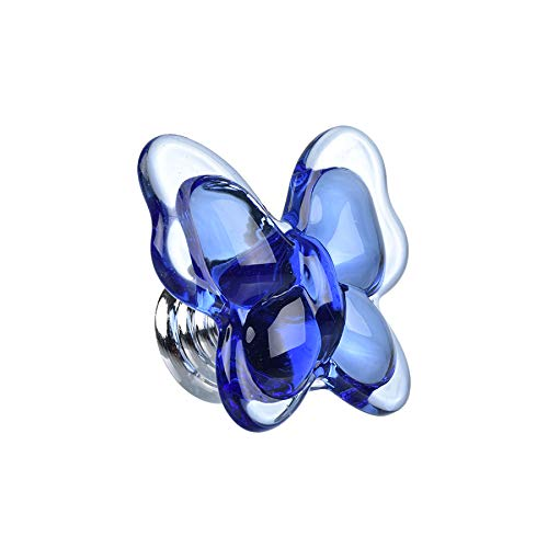 Shiny HANDLES8PCS Blue Crystal Cabinet Knobs,Crystal ...
